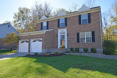 Clermont County Single Family Home For Sale: 529 Hamblin Drive