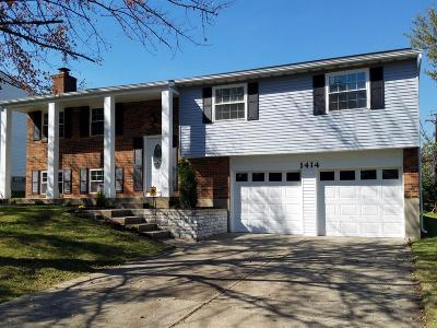 Hamilton County Single Family Home For Sale: 1414 Kingsbury Drive