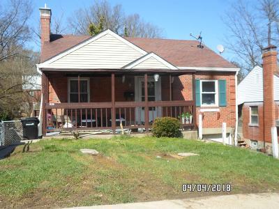 Hamilton County Single Family Home For Sale: 3051 Worthington