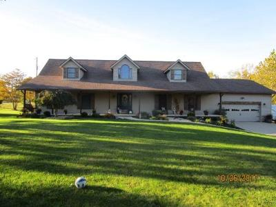Winchester, Winchester Twp Single Family Home For Sale: 244 Polley Road