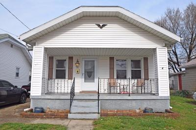 Hamilton OH Single Family Home For Sale: $69,900