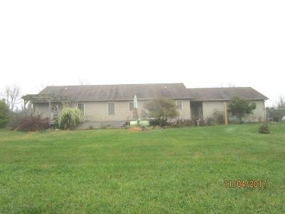 Winchester, Winchester Twp Farm For Sale: 248 Pence Road