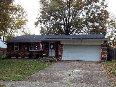 Single Family Home For Sale: 1559 Summithills Drive