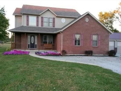 Adams County, Brown County, Clinton County, Highland County Single Family Home For Sale: 3511 McCafferty Road