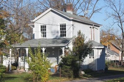Single Family Home For Sale: 30 East Sharon Road