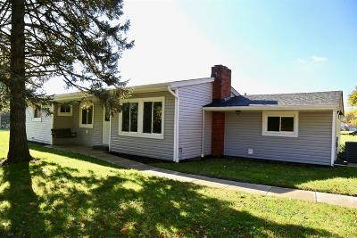 Single Family Home For Sale: 9455 Morrow Cozaddale Road