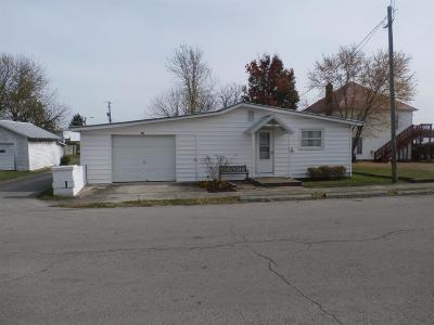 Peebles OH Single Family Home For Sale: $42,900