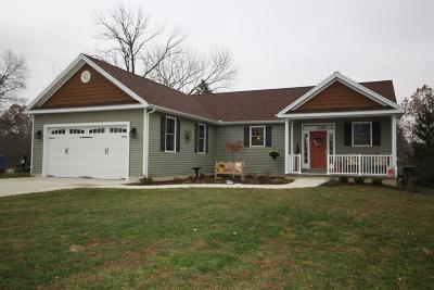 Adams County, Brown County, Clinton County, Highland County Single Family Home For Sale: 54 Indian Drive