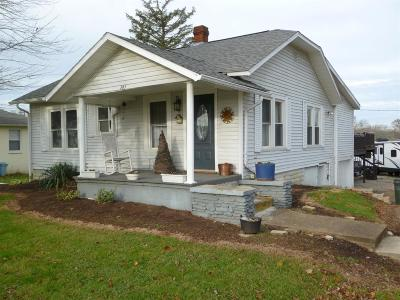 Seaman OH Single Family Home For Sale: $92,500