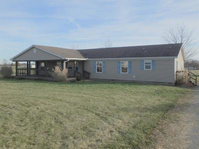 Adams County, Brown County, Clinton County, Highland County Single Family Home For Sale: 2552 Laymon Road