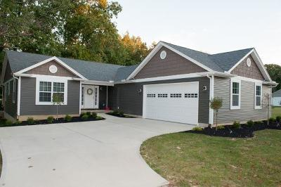 Brown County Single Family Home For Sale: 7 Skunk Cove