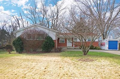 Single Family Home For Sale: 12153 Snider Road