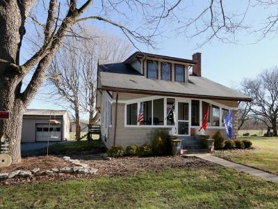 Warren County Single Family Home For Sale: 8536 St Rt 123