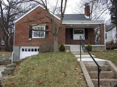 Hamilton Single Family Home For Sale: 661 Millikin Street
