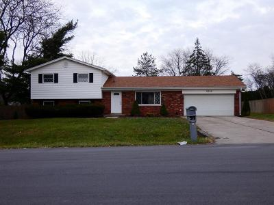 West Chester Single Family Home For Sale: 8386 Grinn Drive