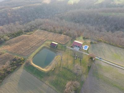 Brown County Single Family Home For Sale: 1544 Shinkle Ridge Road