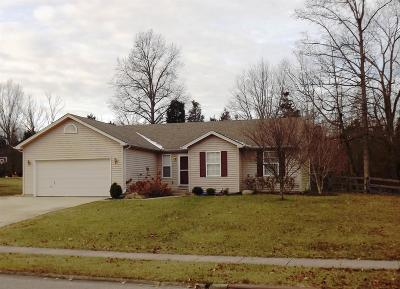 Clermont County Single Family Home For Sale: 3353 Whispering Trees Drive