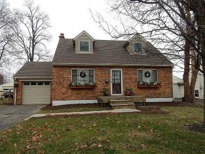 Hamilton County Single Family Home For Sale: 7278 Rita Lane