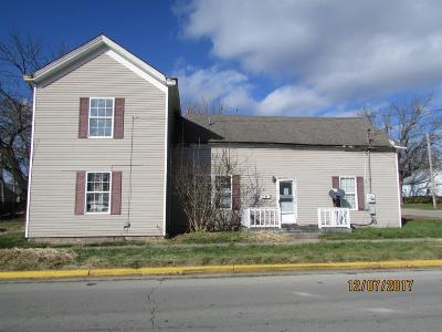Adams County, Brown County, Clinton County, Highland County Single Family Home For Sale: 217 Cherry Street