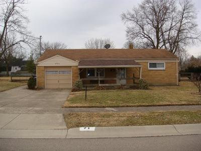 Fairfield OH Single Family Home For Sale: $80,000