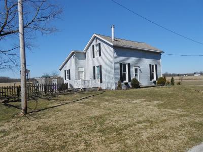 Preble County Single Family Home For Sale: 537 Washington Twin Road