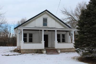 Single Family Home For Sale: 9535 St Rt 48