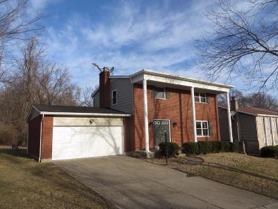Cincinnati Single Family Home For Sale: 2839 Morningridge Drive