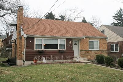 Cheviot Single Family Home For Sale: 4032 Lovell Avenue
