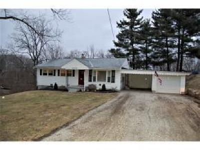 Aurora Single Family Home For Sale: 5876 Dutch Hollow Road