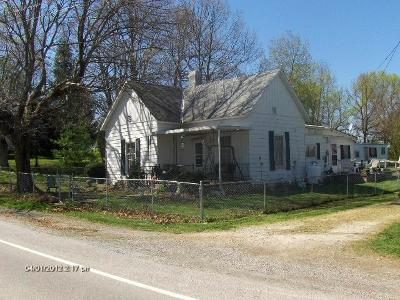 Adams County, Brown County, Clinton County, Highland County Single Family Home For Sale: 10807 St Rt 28