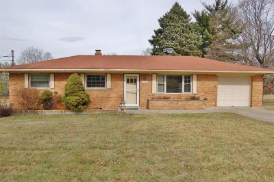West Chester Single Family Home For Sale: 6056 Bardean Drive