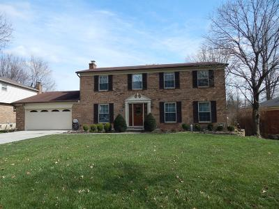 Hamilton County Single Family Home For Sale: 8148 Maxfield Lane