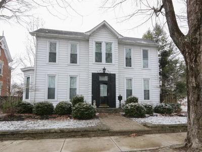 Brookville Single Family Home For Sale: 1037 Cliff Street