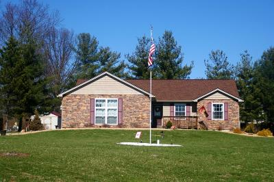 Lawrenceburg Single Family Home For Sale: 2442 Salt Fork Court
