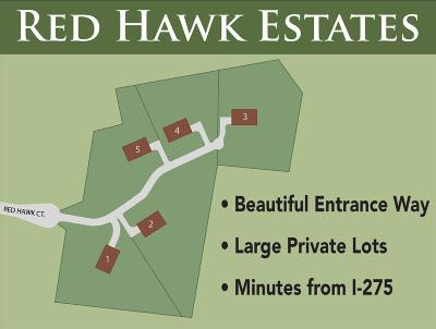 Colerain Twp Residential Lots & Land For Sale: 3 Red Hawk Court