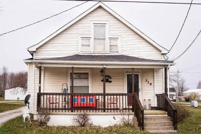 Adams County, Brown County, Clinton County, Highland County Single Family Home For Sale: 319 N Columbus Street