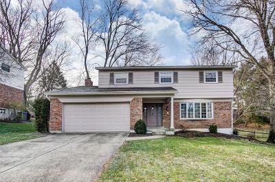 Hamilton County Single Family Home For Sale: 7223 Crinstead Court