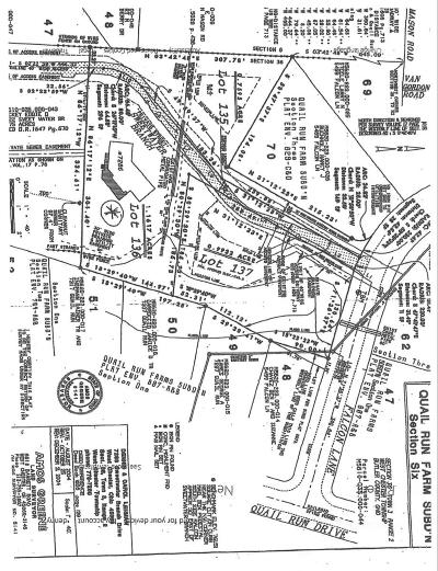 West Chester Residential Lots & Land For Sale: 7262 Sweetwater Branch