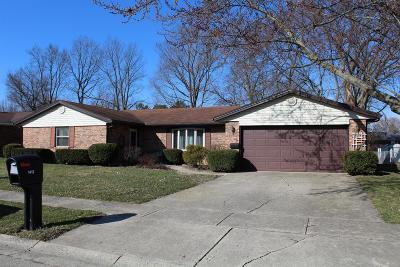 Preble County Single Family Home For Sale: 1413 Aukerman