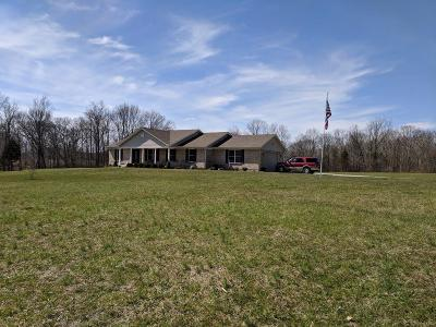 Adams County, Brown County, Clinton County, Highland County Single Family Home For Sale: 12957 Brannon