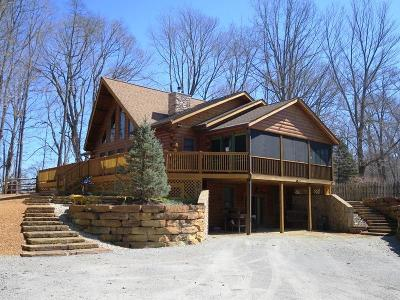 Highland County Single Family Home For Sale: 6300 Lucas Lane