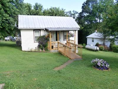 Peebles OH Single Family Home For Sale: $32,000
