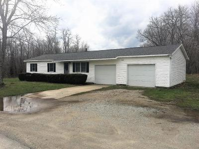 Highland County Single Family Home For Sale: 1159 Hook Morgan Road