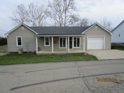 Peebles OH Single Family Home For Sale: $82,500