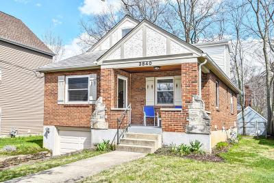 Single Family Home For Sale: 3840 Belmont Avenue