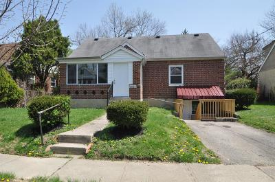 Wyoming Single Family Home For Sale: 1018 Crosley Avenue