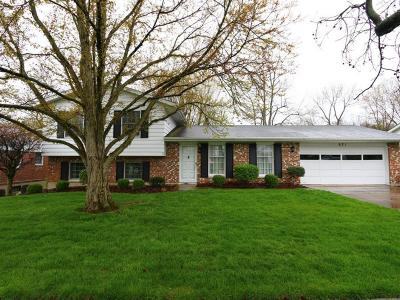 Hamilton Single Family Home For Sale: 921 Golfview Drive