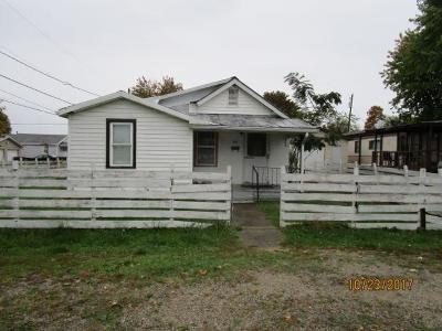 Peebles OH Single Family Home For Sale: $24,900