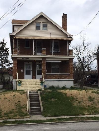 Cincinnati Multi Family Home For Sale: 4046 W Eighth Street