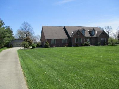 Lawrenceburg Single Family Home For Sale: 22750 Stateline Road